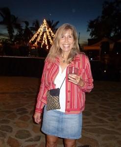 Lindy at Todos Santos Music Festival, Baja.
