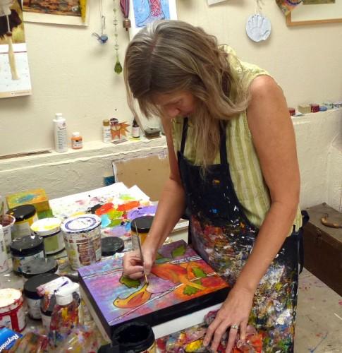 Lindy in Studio