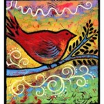 New Whimsical Bird Art – Original Acrylic Paintings
