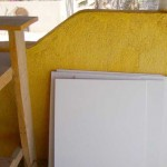 Creating colorful, whimsical paintings in the studio