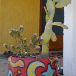 Painting and Making Whimsical Recycled Garden Art