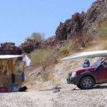 We Camped at Playa Escondida on the Sea of Cortez