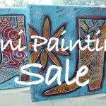 Online Art Sale of Mini Paintings
