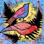 New Acrylic Paintings