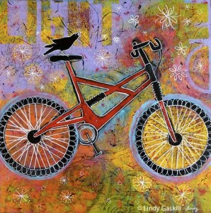 Pure Delight Bicycle Painting