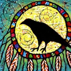 Raven Spirit Painting