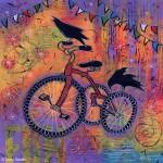 Spectacular Fun Raven painting