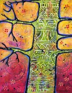 Tree Totem painting