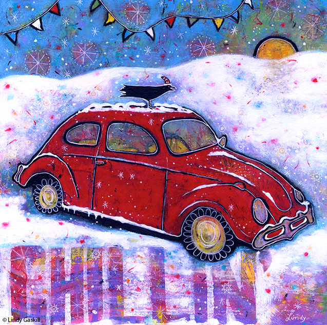 VW Bug painting