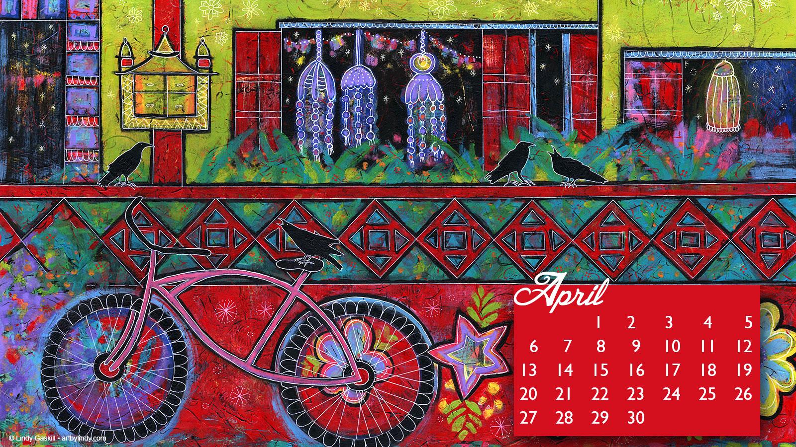 April 2014 desktop wallpaper