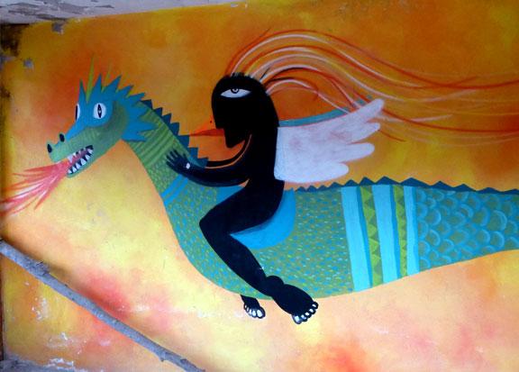 San Pancho Dragon Art