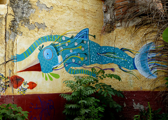 San Pancho Fish Art