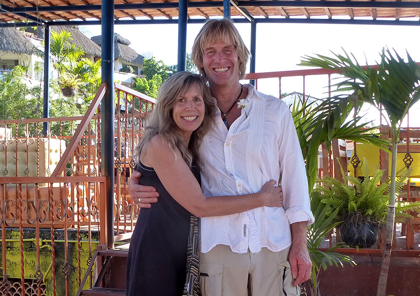 Greg and Lindy in Sayulita