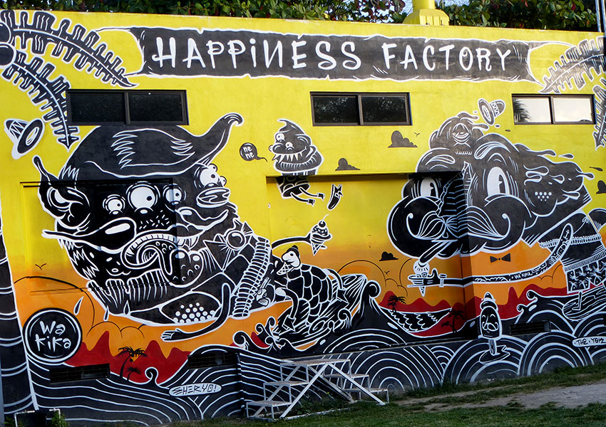 Happiness Factory - ice cream in Sayulita