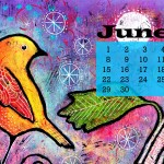 June Desktop Wallpaper Calendar