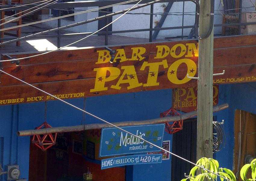 Live music at Bar Don Pato
