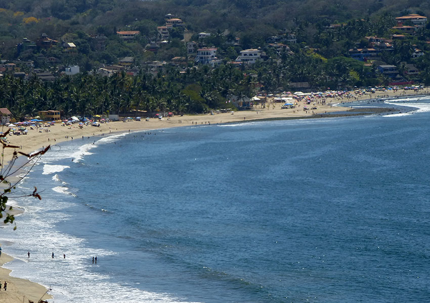 Sayulita view from hill