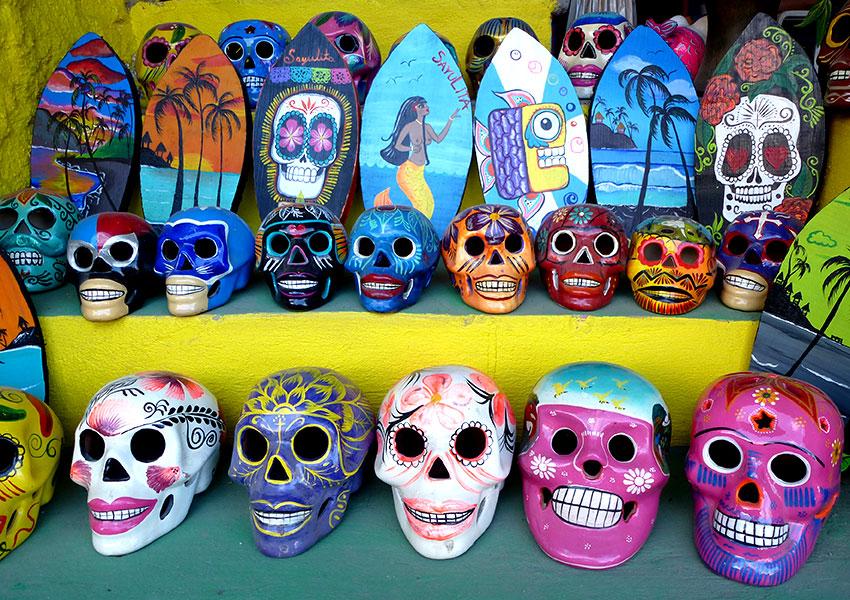Sayulita Sugar Skulls
