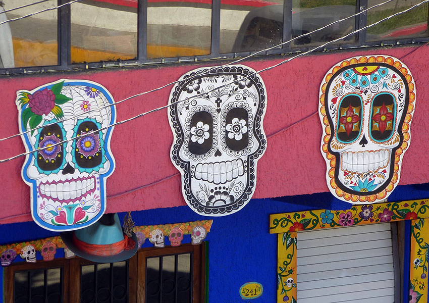 Sugar Skull shop in Sayulita