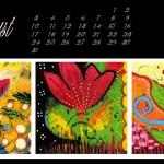 August Desktop Wallpaper Calendar