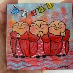 Jizo Mini Paintings for Sale