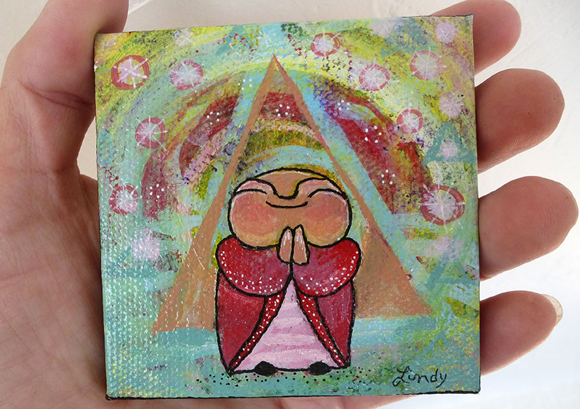 Jizo Under the Energy Field