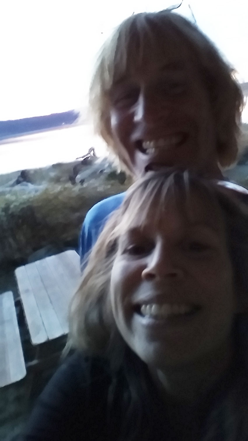 Greg and Lindy  Selfie