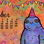 October Desktop Wallpaper Calendar