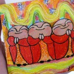 More Mini Jizo Paintings
