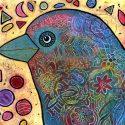 Birdie Love Bird Painting