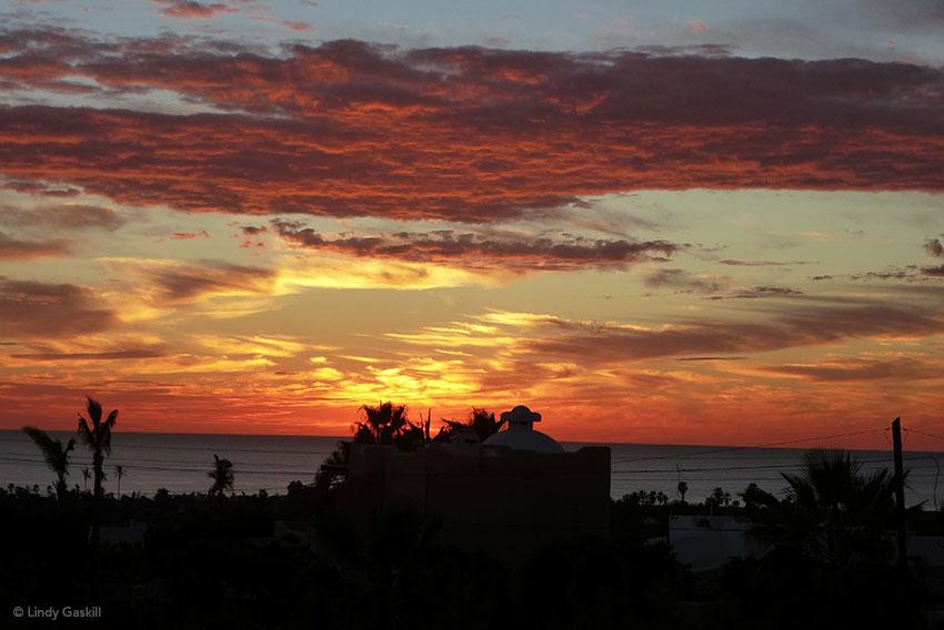 Sunset in Todos Santos, Baja