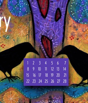 February Desktop Calendar Download