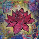 """Transcend"" Lotus Painting Celebrates My 2015 Word"