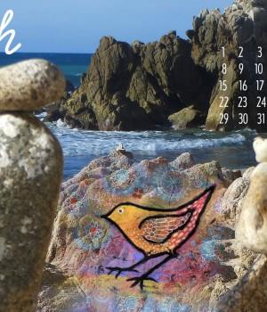 March 2015 Desktop Wallpaper Calendar