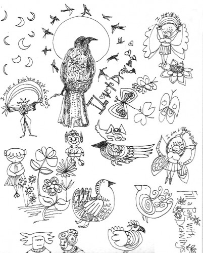 Sketch by Lindy Gaskill