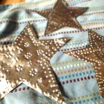 DIY Aluminum Star Christmas Ornaments