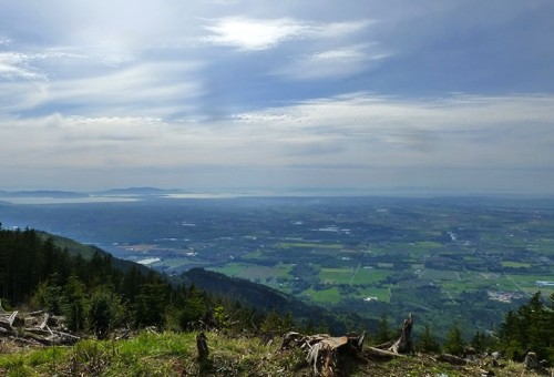 Bellingham, WA hiking view