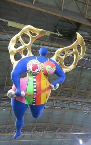 Niki de Saint Phalle [CC BY 3.0 (http://creativecommons.org/licenses/by/3.0)], via Wikimedia Commons