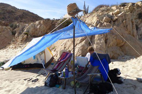 camping punta pescadero