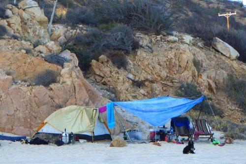 camping baja