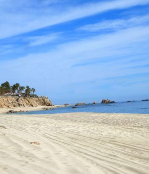 snorkel beach east cape baja