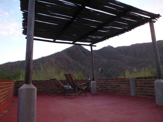 upstairs at Santiago Waterfall cabin