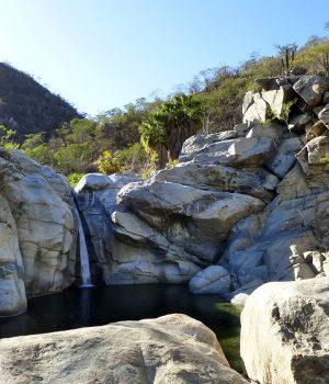Santiago baja waterall