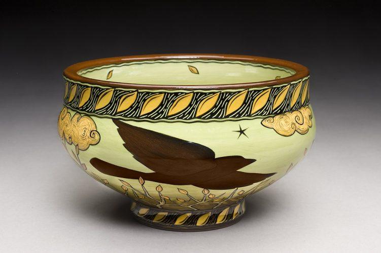 Terri Kern Raven Bowl