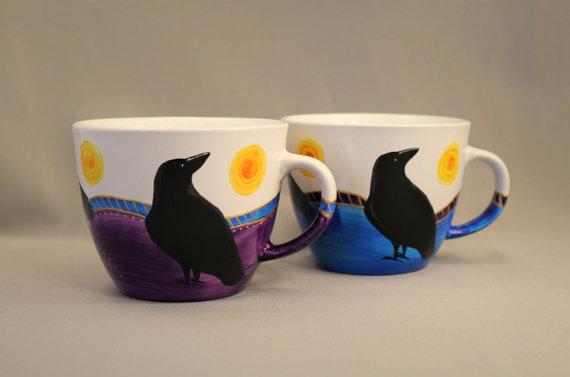 Calling Crow Creative Raven Mug