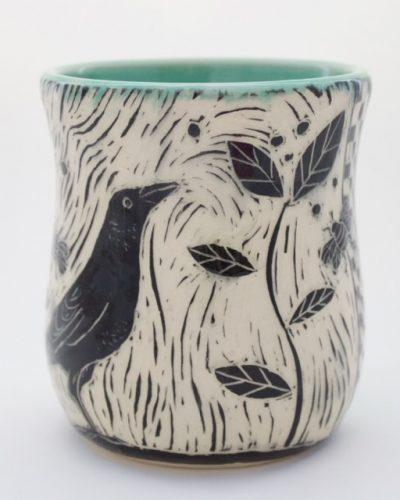Patricia Griffen Raven Mug
