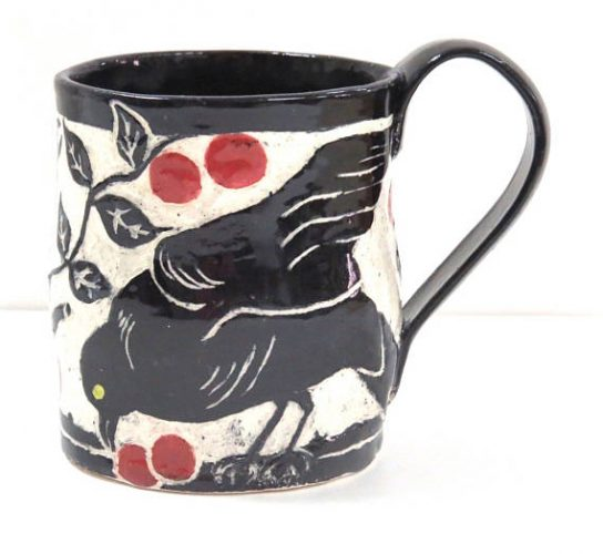 The Clay Bungalow Raven Mug